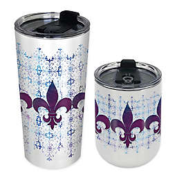 Indigo Falls Fleur de Lis Insulated Tumbler Collection
