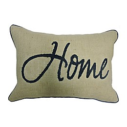 Bee & Willow™ Home Americana Oblong Throw Pillow in Natural/Navy
