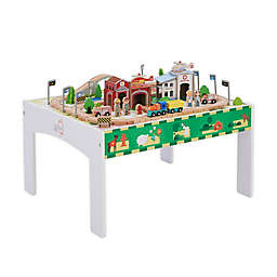 Preschool Country Wooden Train Table Set