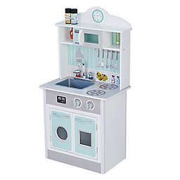 Little Chef Wooden Play Kitchen in Mint