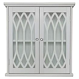 K&B Wall-Mount Bathroom Cabinet in White