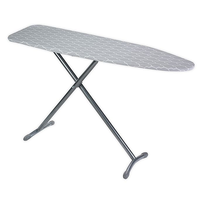 Alternate image 1 for ORG™ T-Leg Ironing Board in Grey