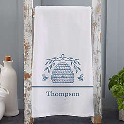 Bee & Willow™ Home Beehive Personalized Tea Towel Collection