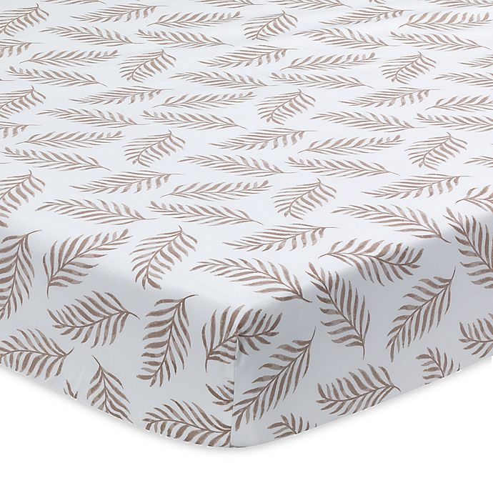 Alternate image 1 for Lambs & Ivy Signature Separates L&i Crib Sheet Crib Sheet in Taupe