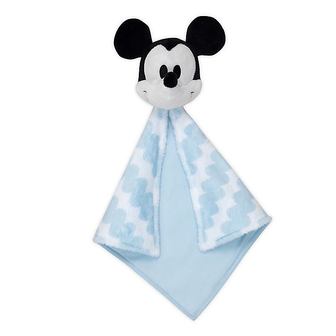 Alternate image 1 for Disney® Mickey Mouse Security Blanket in Blue