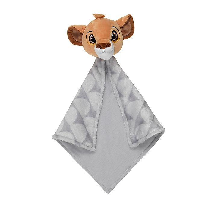 Alternate image 1 for Disney® The Lion King Security Blanket in Grey