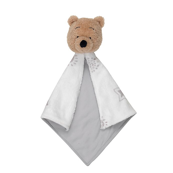 Alternate image 1 for Disney® Winnie the Pooh Security Blanket in Beige