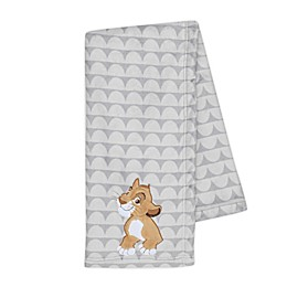 Disney® The Lion King Lux Applique Receiving Blanket in Grey