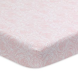 Lambs & Ivy® Signature Separates Abstract Floral Fitted Crib Sheet in Pink