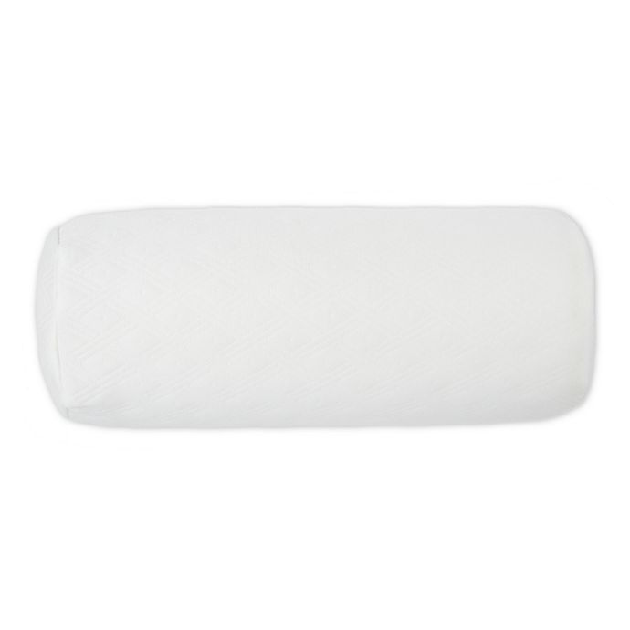 Alternate image 1 for Therapedic® Memory Foam Neck Roll Support Pillow
