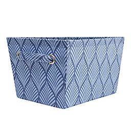 SALT™ Leaf Medium Storage Bin in Blue