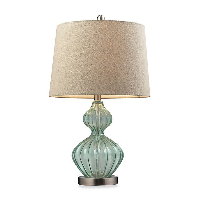 Alternate image 1 for Table Lamp in Pale Green