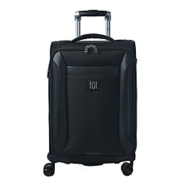 ful® Heritage 22-Inch Spinner Carry On Luggage in Black