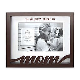 Prinz Mom Boxed Word 8-Inch x 6.5-Inch Picture Frame in Brown