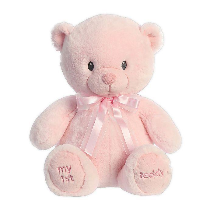Alternate image 1 for Aurora World® My 1st Teddy Bear 18-Inch Plush Toy in Pink