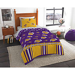 NBA LA Lakers Bed in a Bag Comforter Set