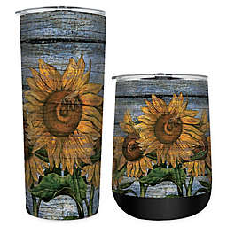 Sunflower Stainless Steel Drinkware Collection