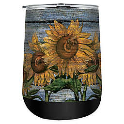 Sunflower 18 oz. Stainless Steel Tumbler with Lid