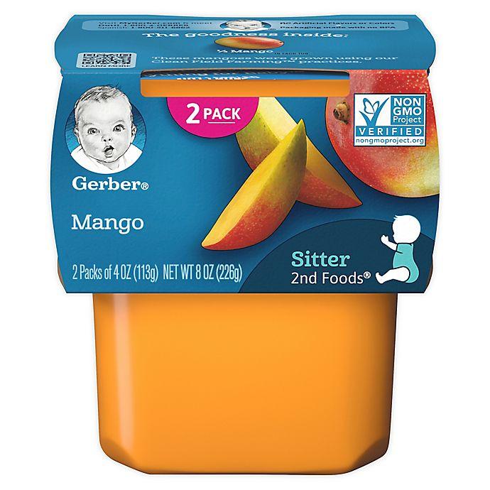 Alternate image 1 for Gerber® 2nd Foods® 2-Pack 4 oz. Mangos