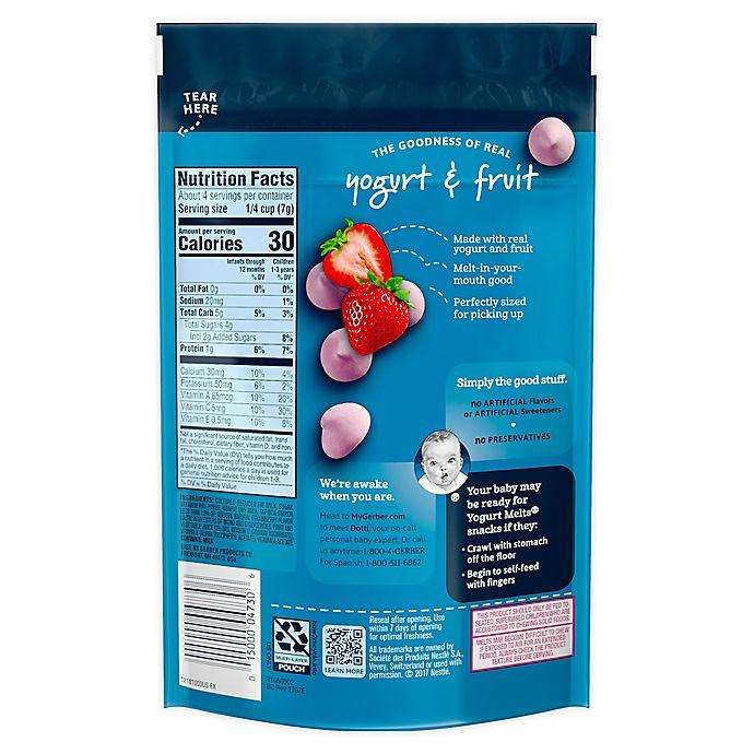Alternate image 1 for Gerber® Strawberry Yogurt Melts®