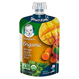 Gerber® 2nd Foods® Organic 3.5 oz. Mangoes, Apples, Carrots and Kale