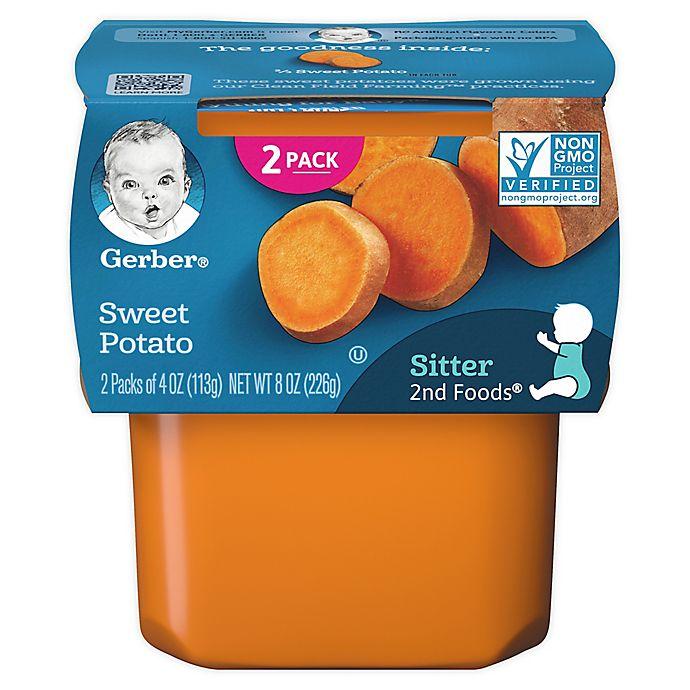 Alternate image 1 for Gerber® 2nd Foods® 2-Pack 4 oz. Sweet Potatoes