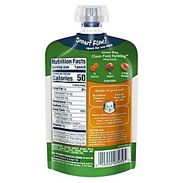 Gerber® 2nd Foods® Organic Carrots, Apples & Mangoes Puree Pouch 3.5 oz.