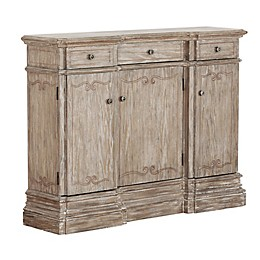 Country Sideboard in Brown/White