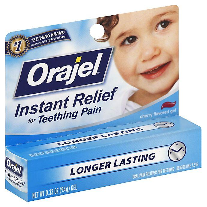 Baby Orajel 174 33 Oz Teething Pain Gel In Cherry Flavor
