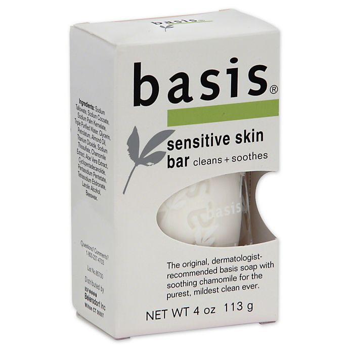 Alternate image 1 for Basis 4-Ounce Sensitive Skin Bar