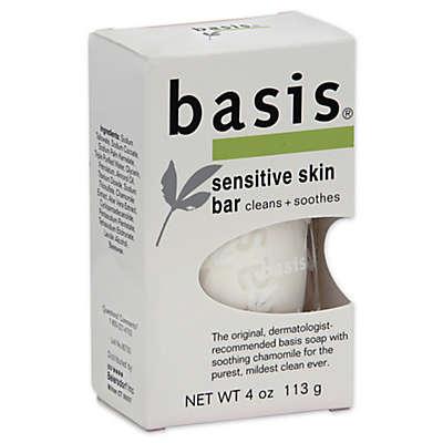 Basis 4-Ounce Sensitive Skin Bar
