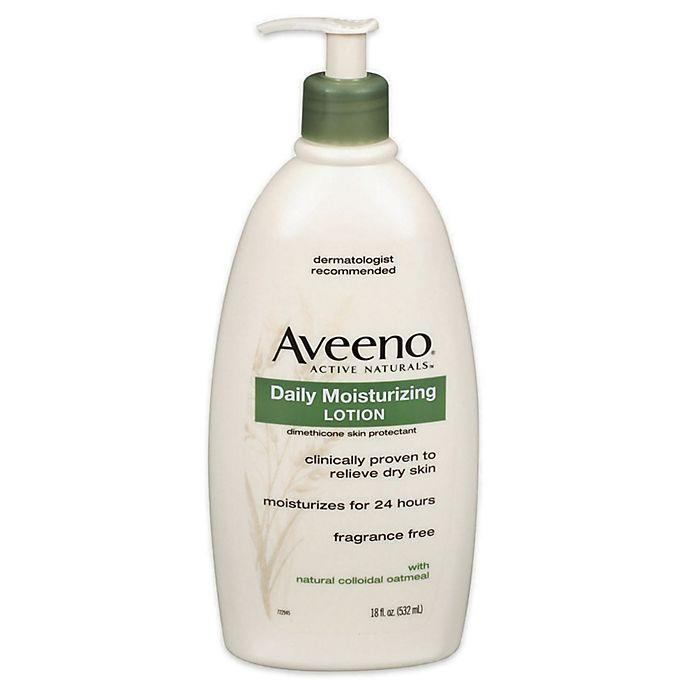 Alternate image 1 for Aveeno® 18 oz. Daily Moisturizing Lotion