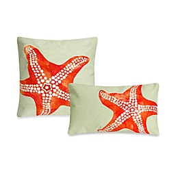 Liora Manne Outdoor Throw Pillow in Starfish