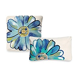 Liora Manne Outdoor Throw Pillow Collection in Daisy