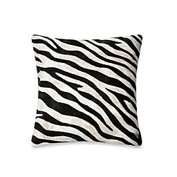 Liora Manne Outdoor Throw Pillow Collection in Zebra