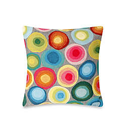 Liora Manne Outdoor Throw Pillow Collection in Puddle Dot
