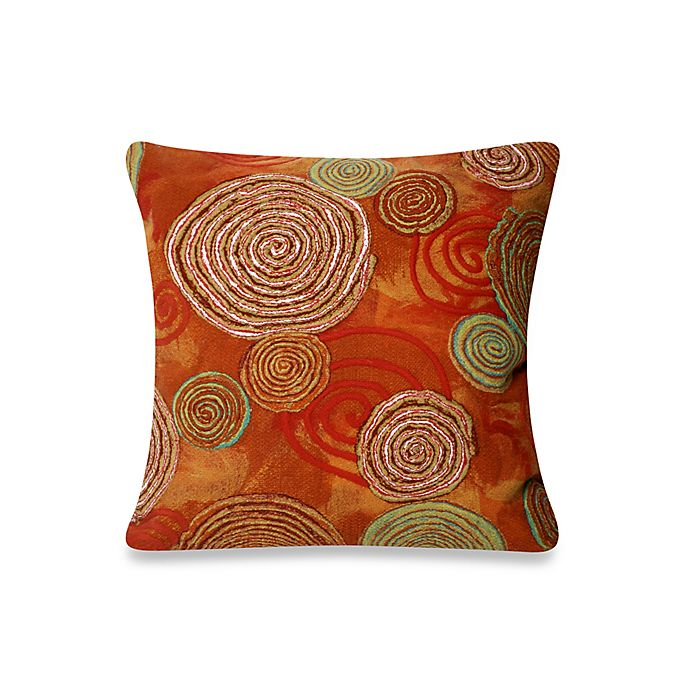 Alternate image 1 for Liora Manne Outdoor Throw  Pillow Collection in Graffiti Swirl