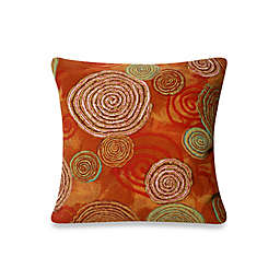 Liora Manne Outdoor Throw  Pillow Collection in Graffiti Swirl