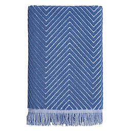 Chevron Textured Bath Towel