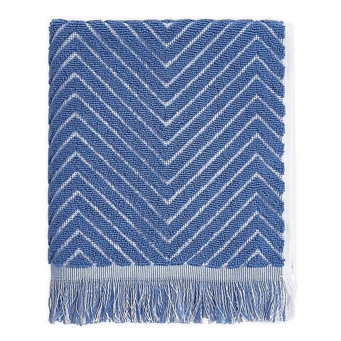 Alternate image 1 for Chevron Textured Hand Towel