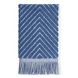 Chevron Textured Fingertip Towel