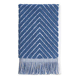 Chevron Textured Fingertip Towel