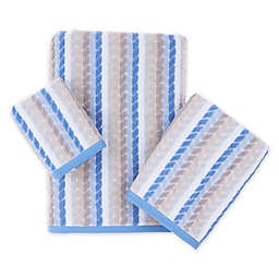 Chevron Tile Bath Towel Collection