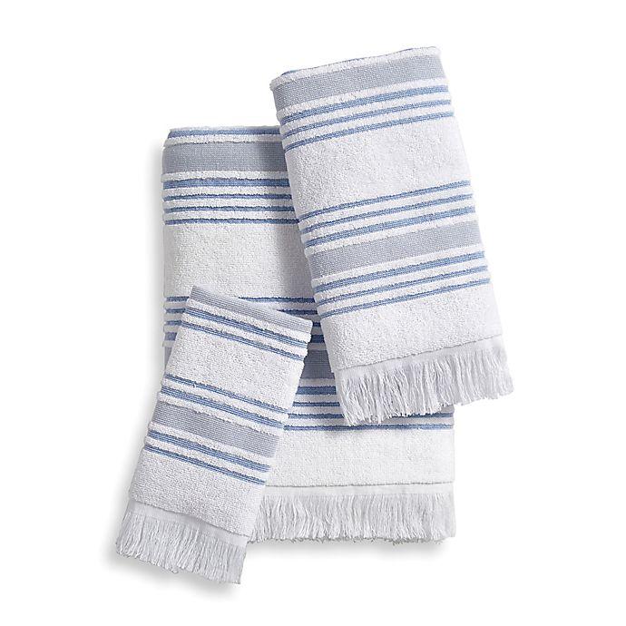 Alternate image 1 for Stripe Bath Towel Collection