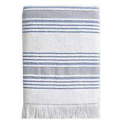 Stripe Bath Towel in Blue