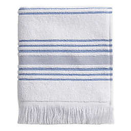 Stripe Hand Towel in Blue