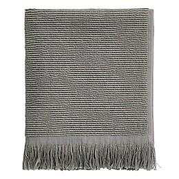 Ribbed Fringe Hand Towel