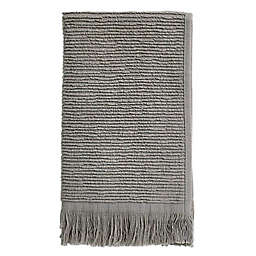 Ribbed Fringe Fingertip Towel