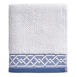 Geometric Stripe Hand Towel