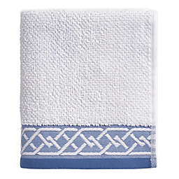 Geometric Stripe Hand Towel